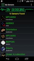 Screenshot of My Sensors
