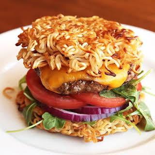 Ramen Burger.