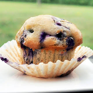 Single-Serving Blueberry Muffin.