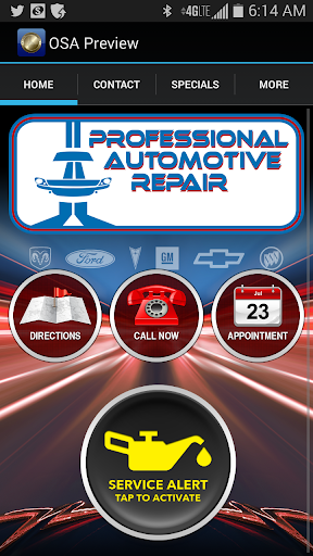 Professional Automotive Repair