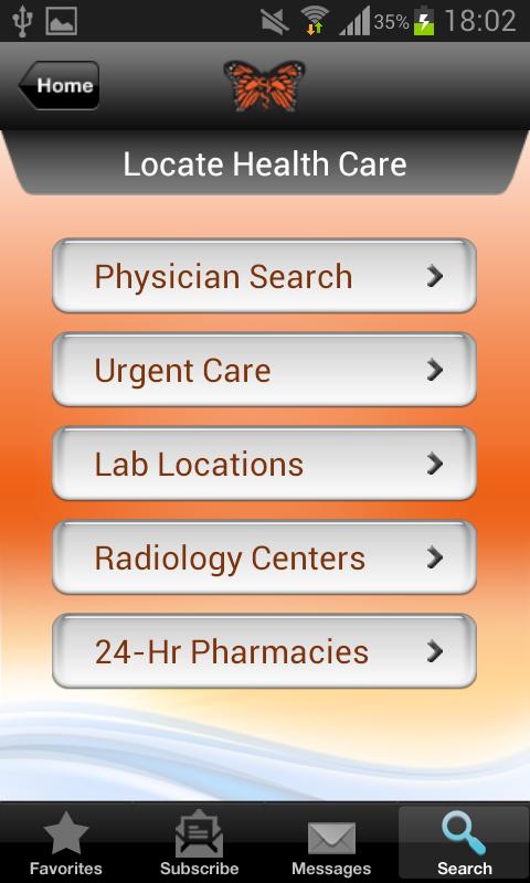Monarch CareFinder Version 3.0 - screenshot