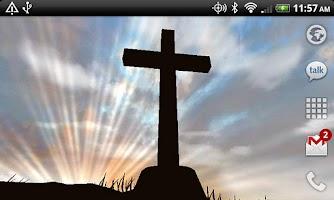 Screenshot of 3D Cross Live Wallpaper