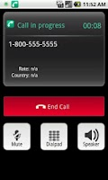 Screenshot of mobeecheapPro - VoIP Dialer