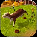 Atomic Cow Simulator 3D icon