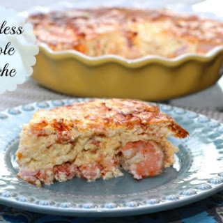 Crustless Creole Quiche