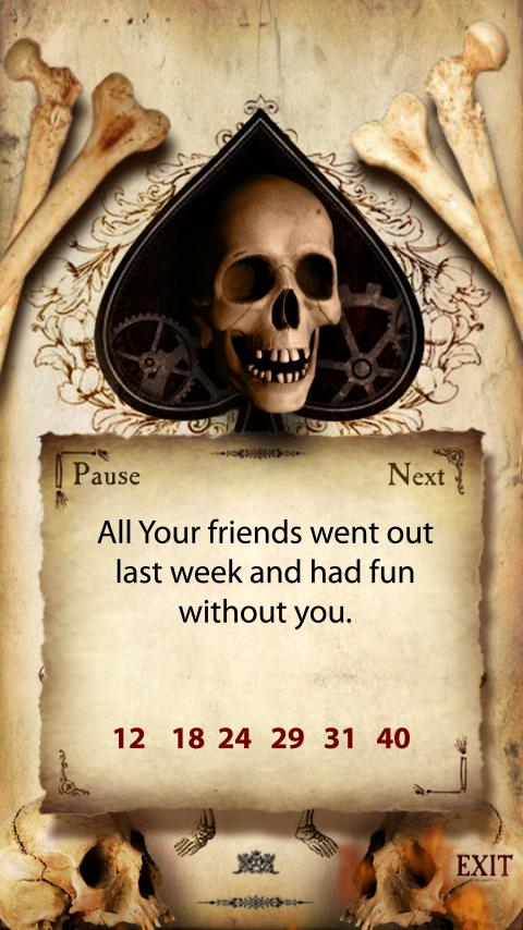 Funny Evil Fortune Teller- screenshot