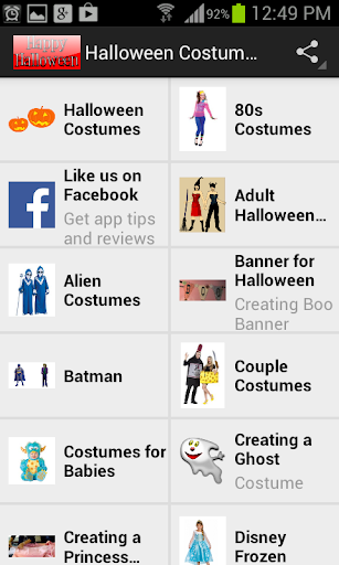 Halloween Costumes and Crafts