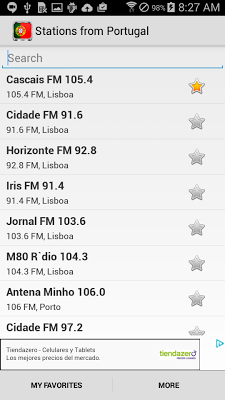 Radio Portugal - screenshot