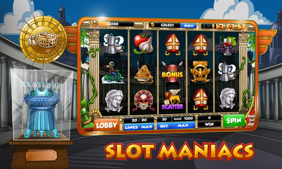 Slot Maniacs - screenshot