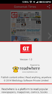 Gomantak Times ePaper- screenshot thumbnail