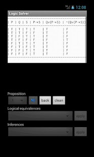 Logic Solver (truth tables) - screenshot thumbnail