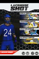 Screenshot of Lacrosse Shot