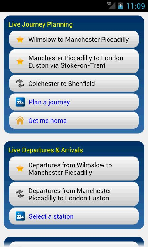 Rail Planner Live- screenshot