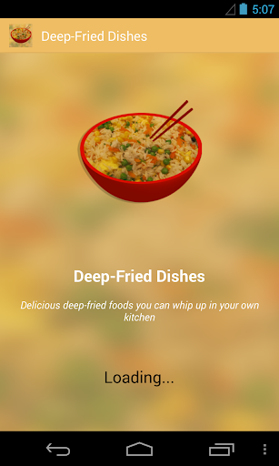 Deep Fried Dishes