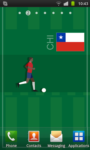 Chile Soccer LWP