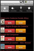 Screenshot of Fallas 2015 Valencia Vote NOW