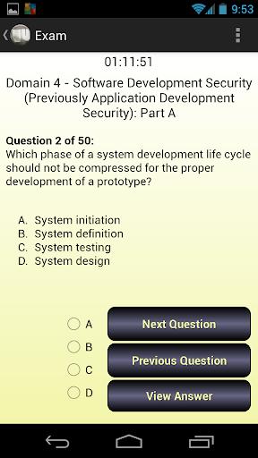 CISSP Evaluator Domain 4