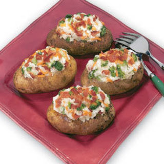 Cheesy Twice-baked Ranch Potatoes
