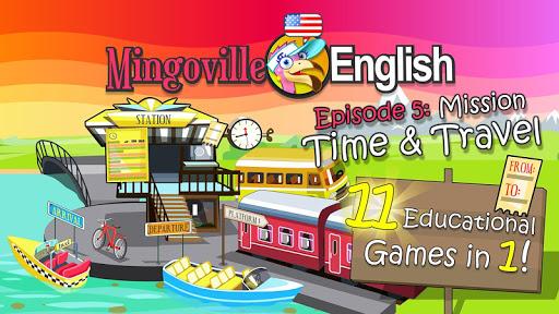 玩免費教育APP|下載儿童英语 5:Mingoville中的'时间和旅行' app不用錢|硬是要APP