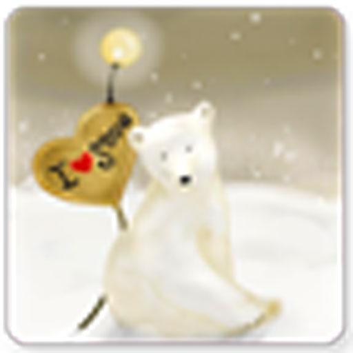 美麗的浪漫雪景動態壁紙屏幕鎖 個人化 LOGO-玩APPs
