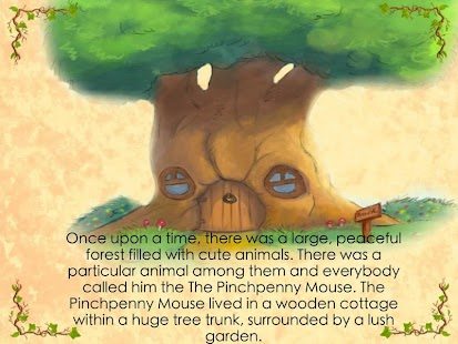Pinchpenny Mouse storybook- screenshot thumbnail