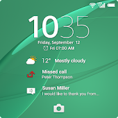 Xperia™ wallpaper: Green