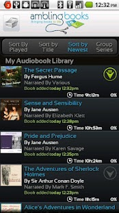 Ambling BookPlayer Personal - screenshot thumbnail