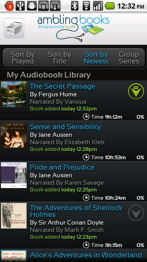 Ambling BookPlayer Personal - screenshot