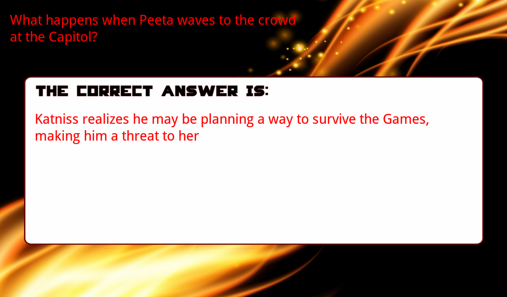 hunger games essay questions and answers View hunger games chapter questions- answers (1) from latin 1 latin 1 at western guilford high chapter 1 comprehension questions- answers 1 describe the narrator.