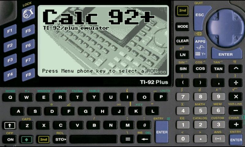 Calc 92+ Donation - screenshot
