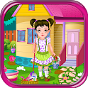 Kids House Clean Games icon