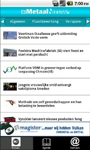 MetaalNieuws - screenshot thumbnail