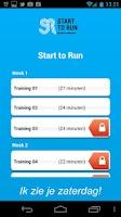 Screenshot of Start to Run
