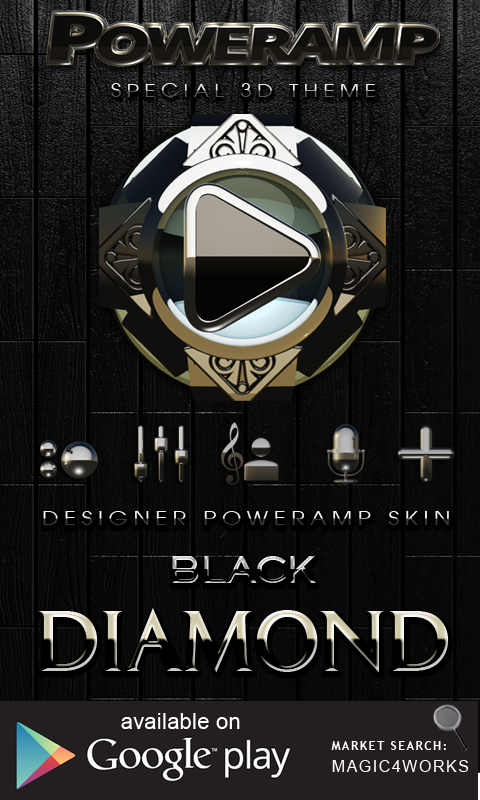 GO Locker Theme Black Diamond