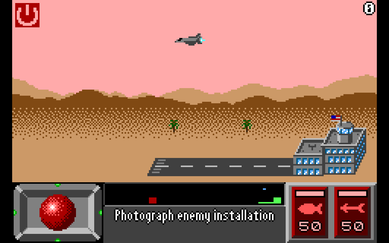 Super Pixel Jet Fighter - screenshot