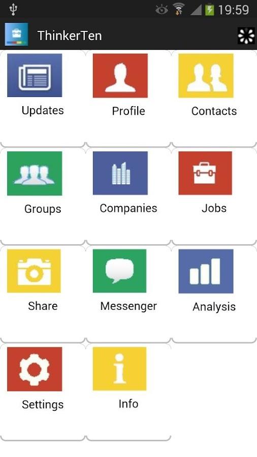 ThinkerTen for Linkedin - screenshot
