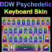 Psychedelic Keyboard Skin