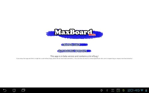 MaxBoard