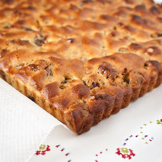 Gluten-free Date and Walnut Cake.