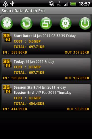 Smart Data Watch Pro - screenshot