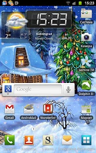 Christmas 2011 Live Wallpaper - screenshot thumbnail
