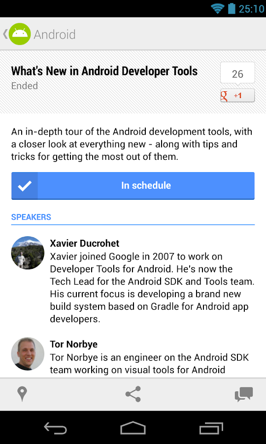 Google I/O 2013 - screenshot
