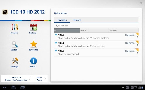 ICD 10 HD 2012 - screenshot thumbnail