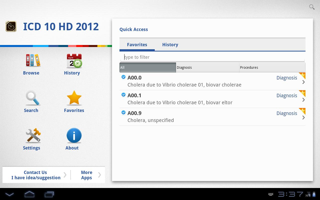 ICD 10 HD 2012 - screenshot