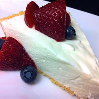 Lemon Mousse Pie.