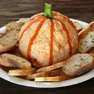 Pumpkin Cheese Ball.