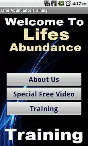 in Lifes Abundance Biz