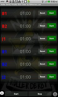 Roller Derby Penalty Timer- screenshot thumbnail