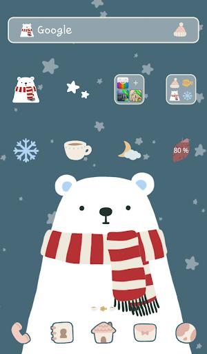 북극곰과 별 도돌런처테마