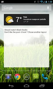 Memento Widget- screenshot thumbnail